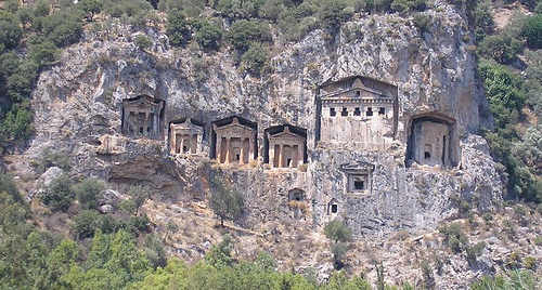 Private tour to Dalyan / Caunos with your car rental %>
