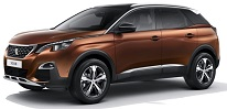 Peugeot 3008 SUV or similar (XVAD)