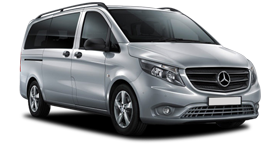 Mercedes Vito / Ford Transit Custom or similar (SVAD)