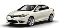 Large size saloons / e.g. Renault Fluence AT or similar (TDAD)